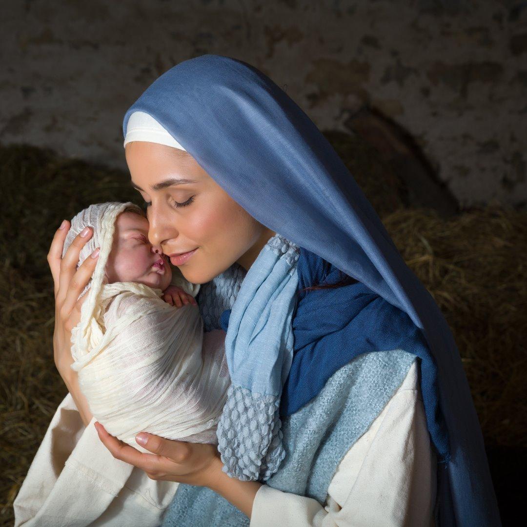 Jomfru Maria med Jesus