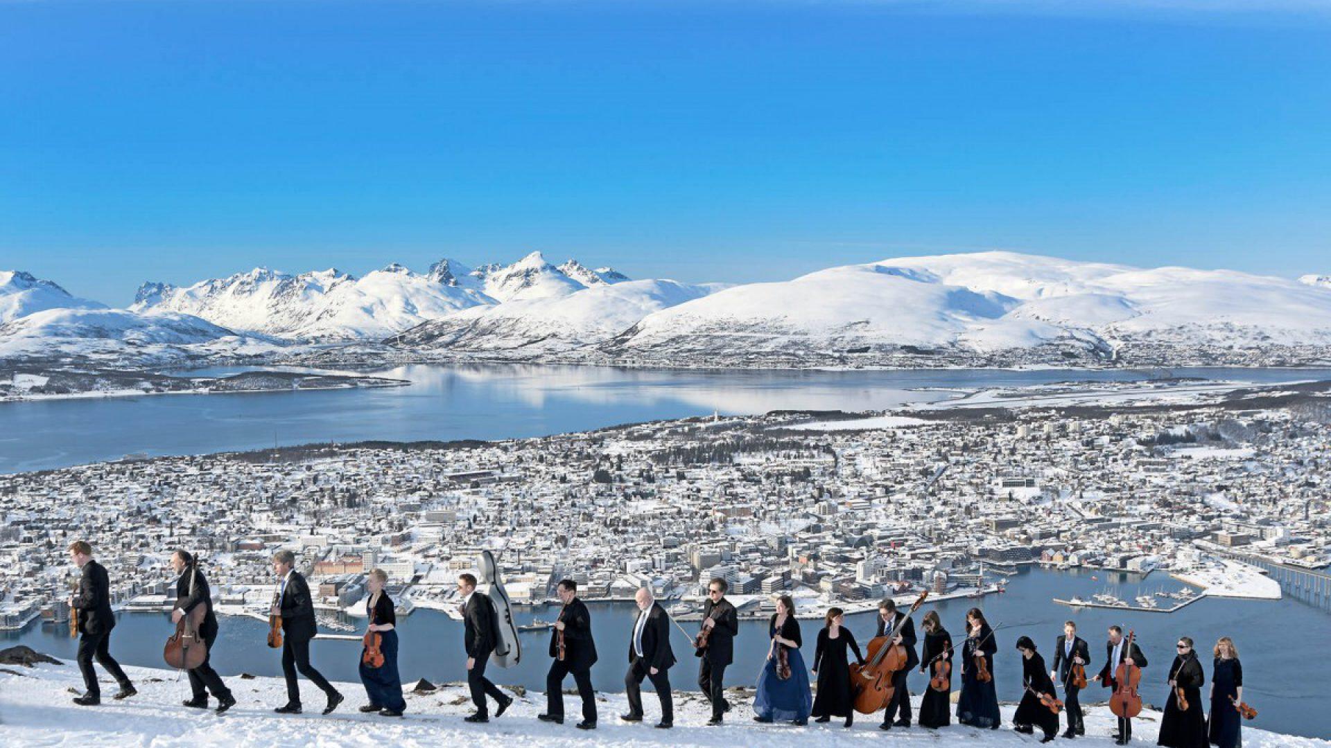Kammerorkesteret på fjellheisen