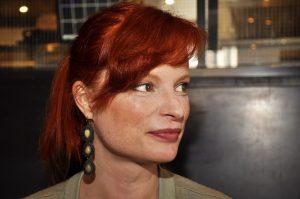 sangeren Anna Traub, nærbilde