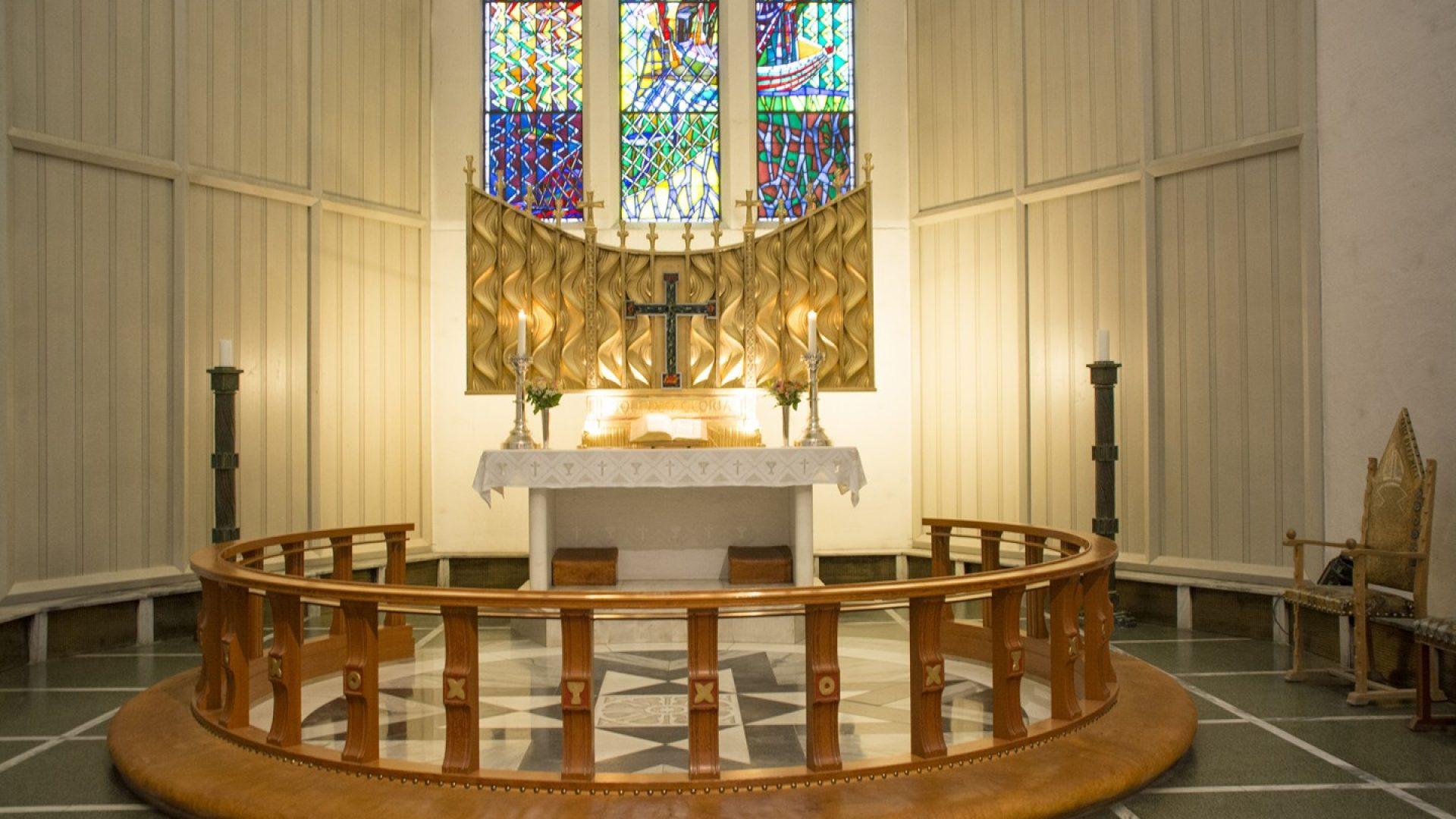alterringen i Bodø Domkirke