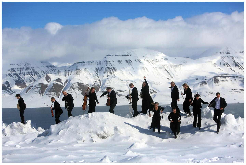 Arktisk Filharmonis sinfonietta på Svalbard