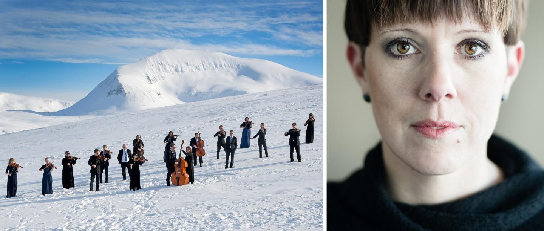 Arktisk Filharmonis kammerorkester og Berit Norbakken