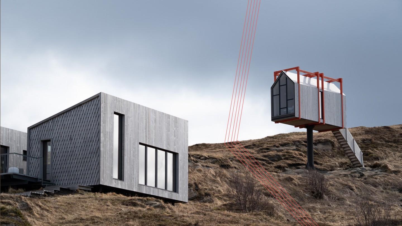 Fordypningsrommet - hus på påle i Fleinvær