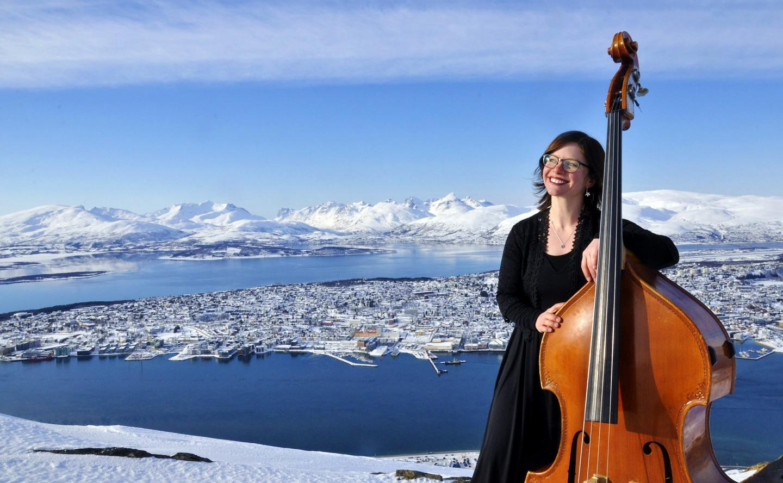 Jorun Perander på Fjellheisen i Tromsø