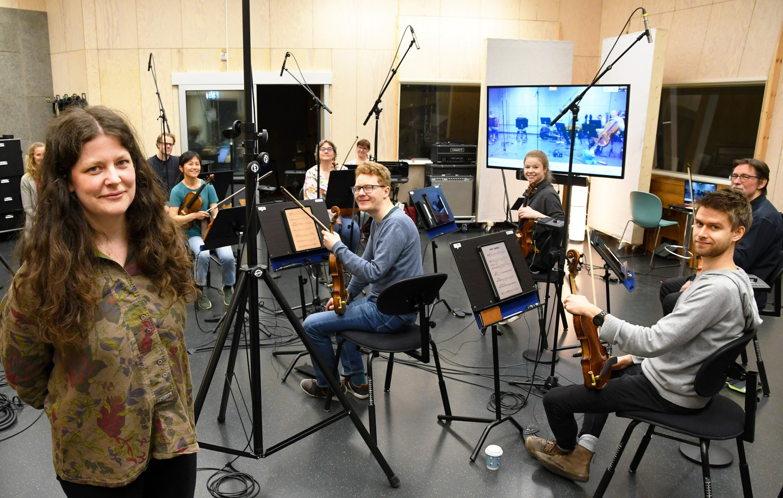 Arktisk Filharmonis kammerorkester og Tara i Picidae