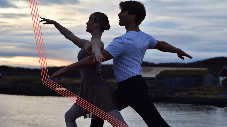 Ballettdansere i Bodøsjøen