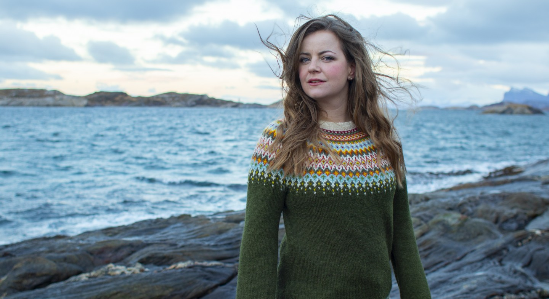 Ann Iren Hansen ved havet