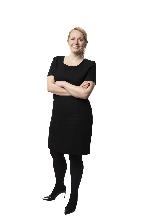 Lise Benjaminsen i helfigur