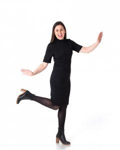 Charlotte Gjertsen som danser.