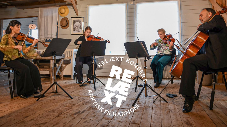 strykekvartett fra Arktisk Filharmoni