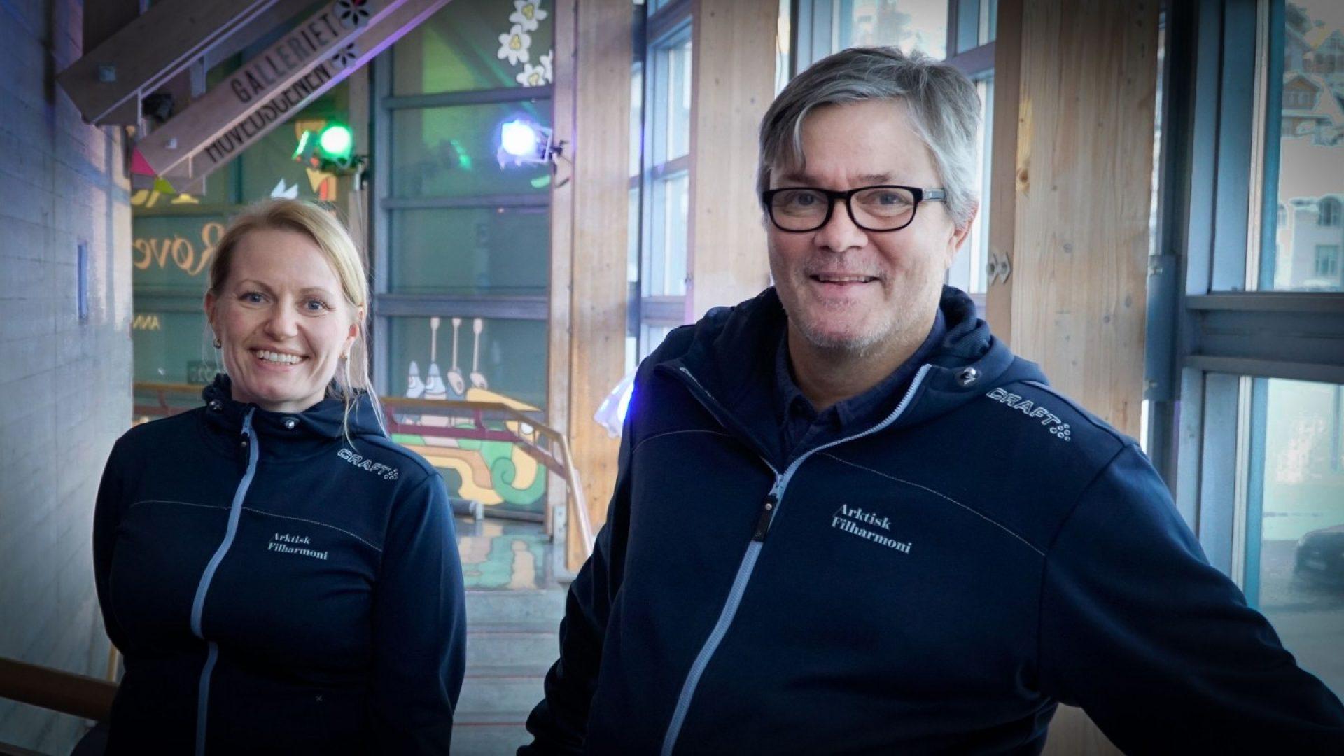 Konsertvertskap Lise Benjaminsen og Nils Hald